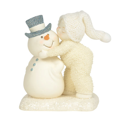 Snowbabies Peace A Kiss For The Man I Love Figurine