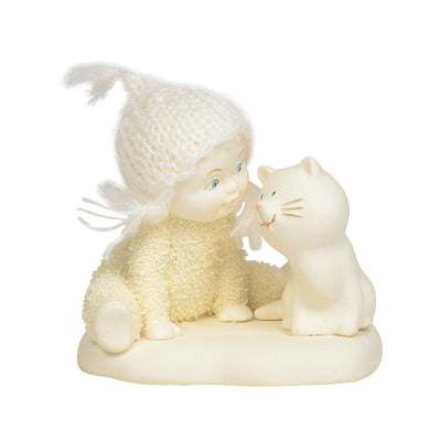 Snowbabies Chatting Catty Figurine
