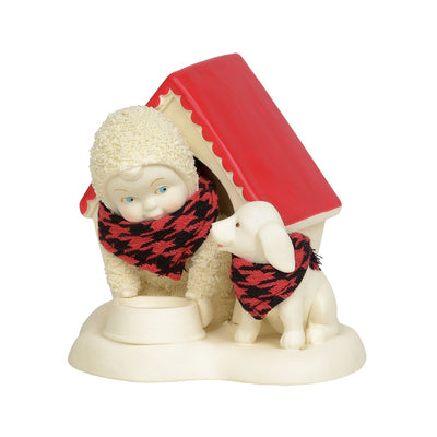 Snowbabies In The Doghouse Figurine