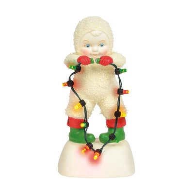 Snowbabies Plug It In Baby, Figurine