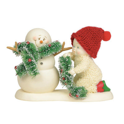 Snowbabies Don We Know Our Gay Apparel Figurine