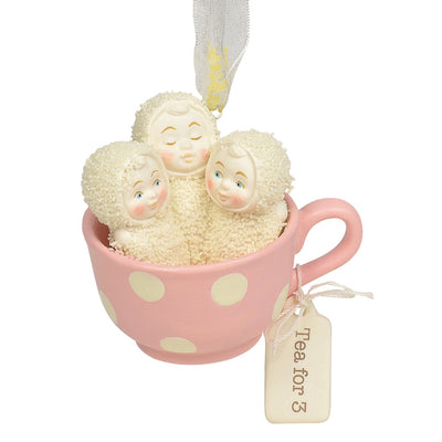 Snowbabies Tea For Three Ornament