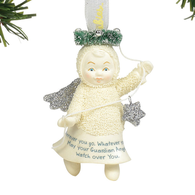 Snowbabies Guardian Peace Ornament