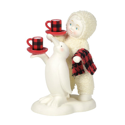 Snowbabies Cocoa Is Served Figurine