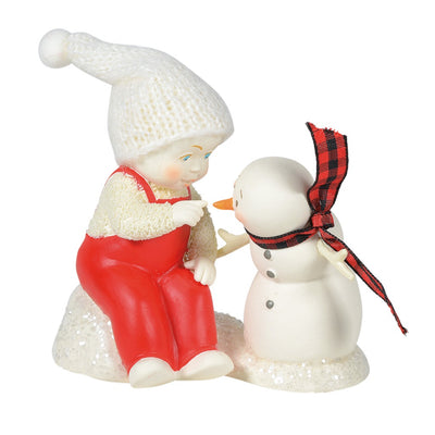 Snowbabies I See Your Point Figurine