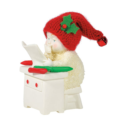 Snowbabies Christmas Colors Figurine