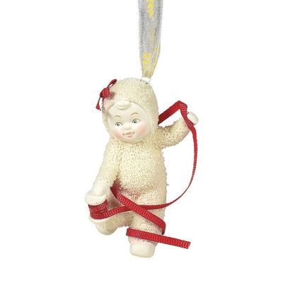 Snowbabies Momentarily Tied Up Ornament