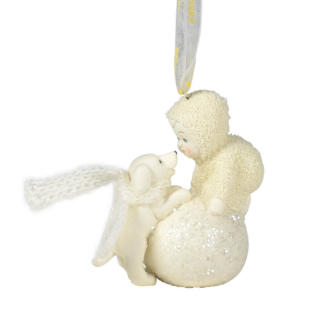 Snowbabies Let's Make A Snowball Ornament