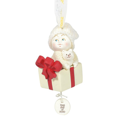 Snowbabies Best Gift Baby's First 2020 Dated Ornament
