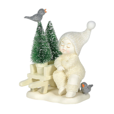 Snowbabies New Trees To Plant Figurine