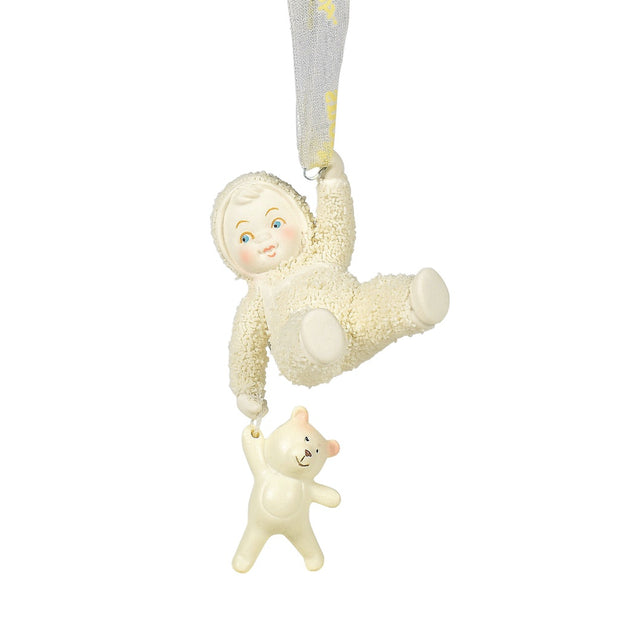 Snowbabies Beary Best Friends Ornament