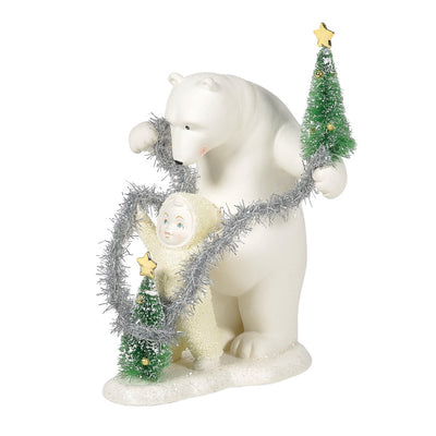 Snowbabies Tinsel For Two Figurine