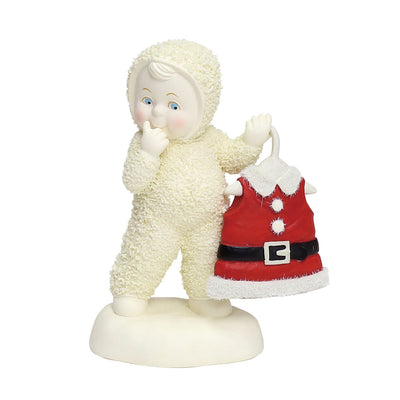 Snowbabies Baby's Got New Clothes Anniversary Figurine