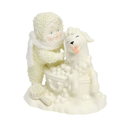Snowbabies Bath Time Figurine