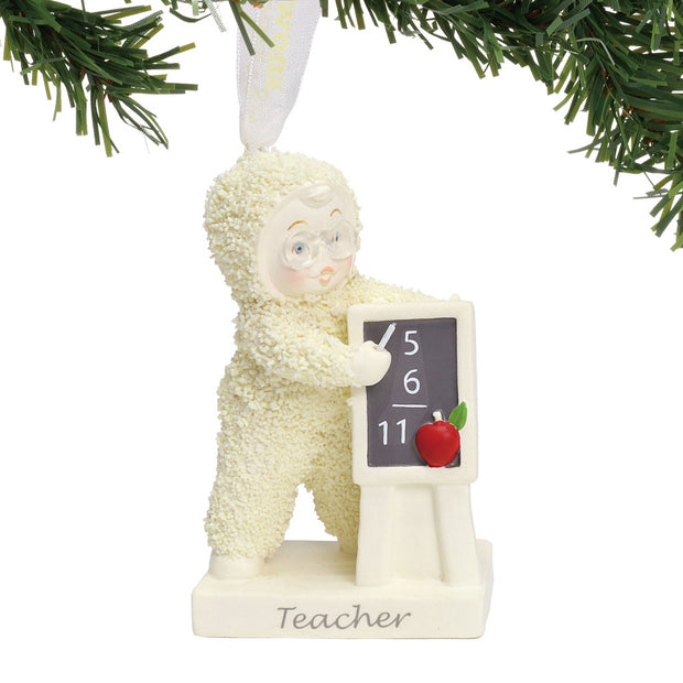 Snowbabies Teacher Ornament