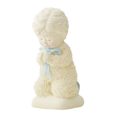 Snowbabies Saying Prayers, Boy Figurine