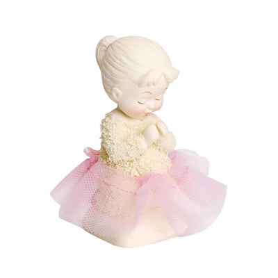 Snowbabies Saying Prayers, Girl Figurine