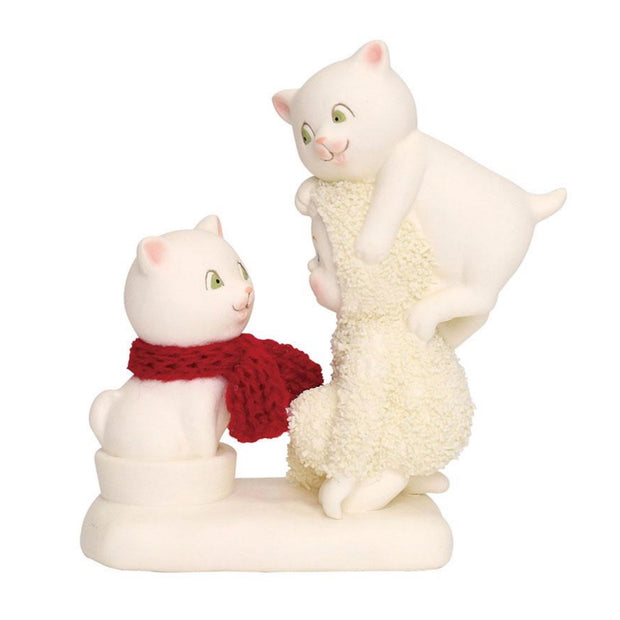 Snowbabies The Trouble With Cats Figurine