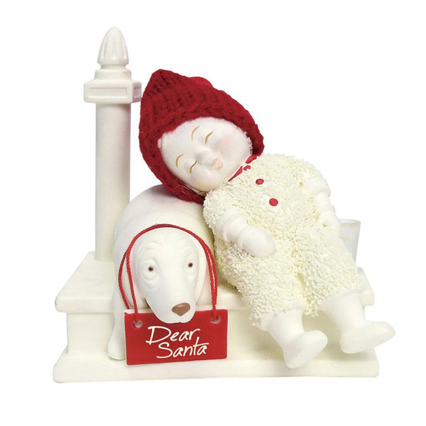 Snowbabies Waiting For Santa Figurine