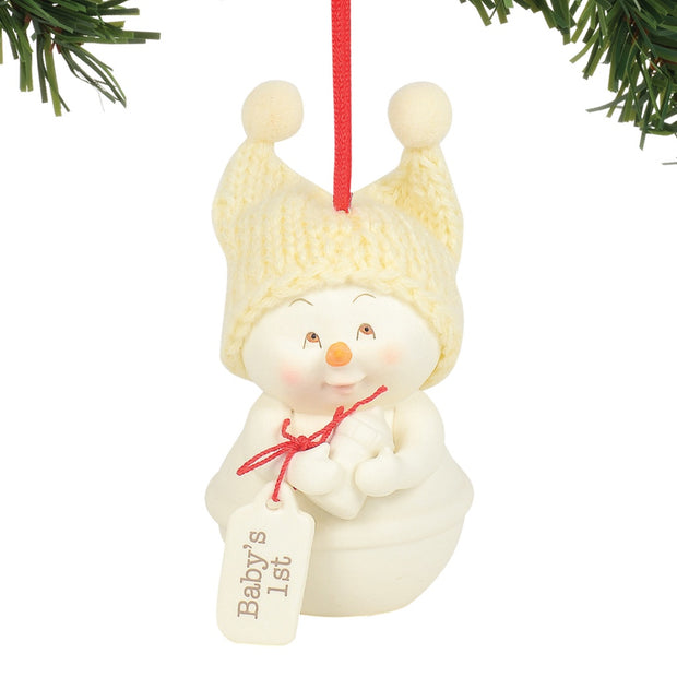 Snowpinions Baby's 1st Ornament