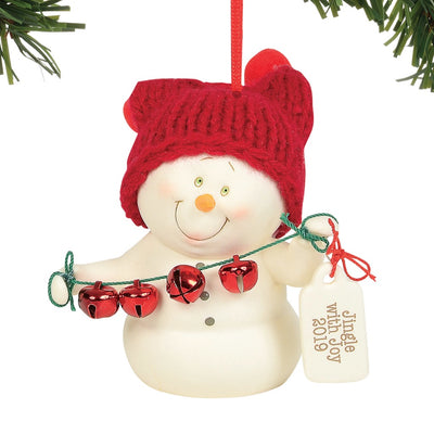 Snowpinions Jingle With Joy 2019 Dated Ornament