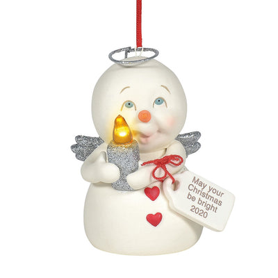 Snowpinions May Your Christmas Be Bright 2020 Dated Ornament