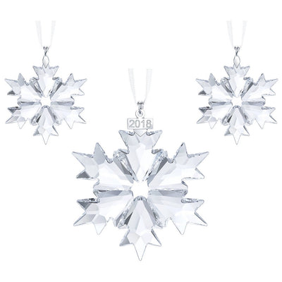 Swarovski 2018 Christmas Ornament Set