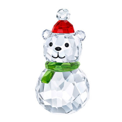 Swarovski Crystal Rocking Polar Bear Figurine