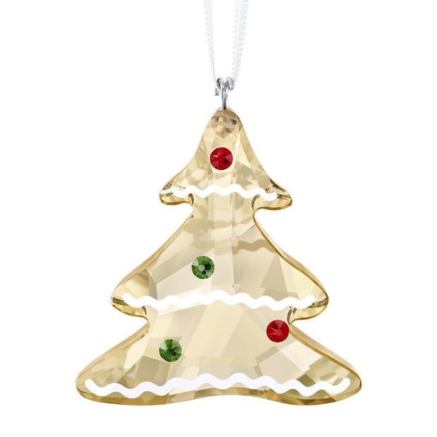 Swarovski Crystal Gingerbread Tree Christmas Ornament