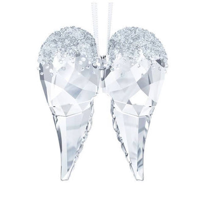 Swarovski Crystal Angel Wings Christmas Ornament