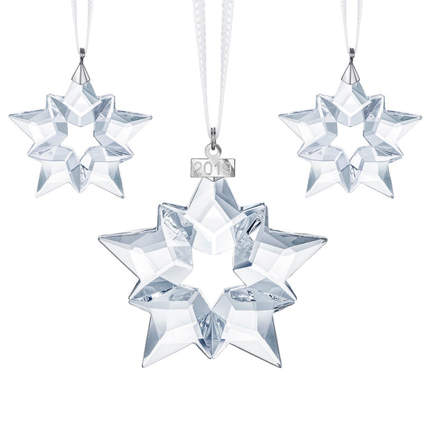 Swarovski 2019 Christmas Ornament Set