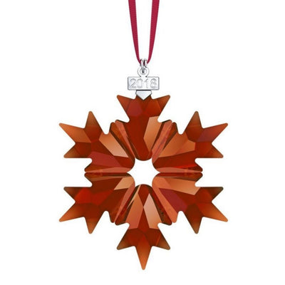 Swarovski 2018 Annual Edition Christmas Ornament - Red