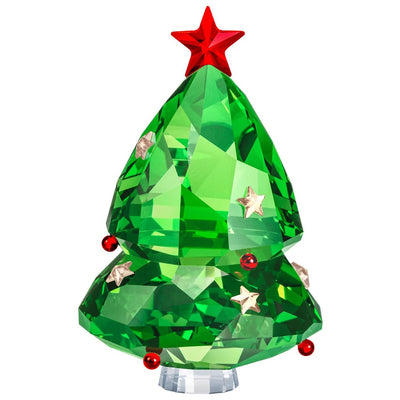 Swarovski Crystal Christmas Tree, Green Figurine