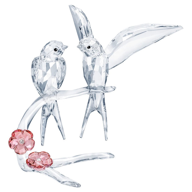 Swarovski Crystal Swallows Figurine