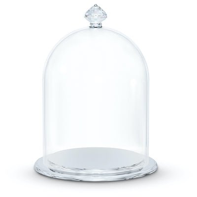 Swarovski Crystal Bell Jar Display, Small
