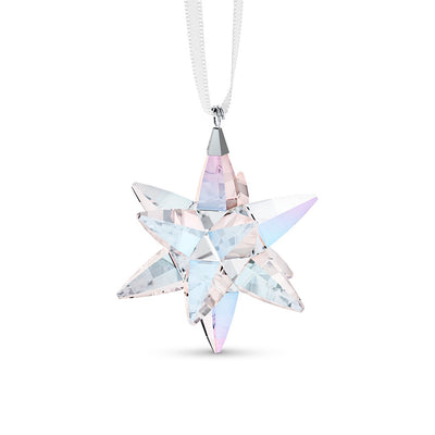 Swarovski Crystal Star Ornament Shimmer, Small