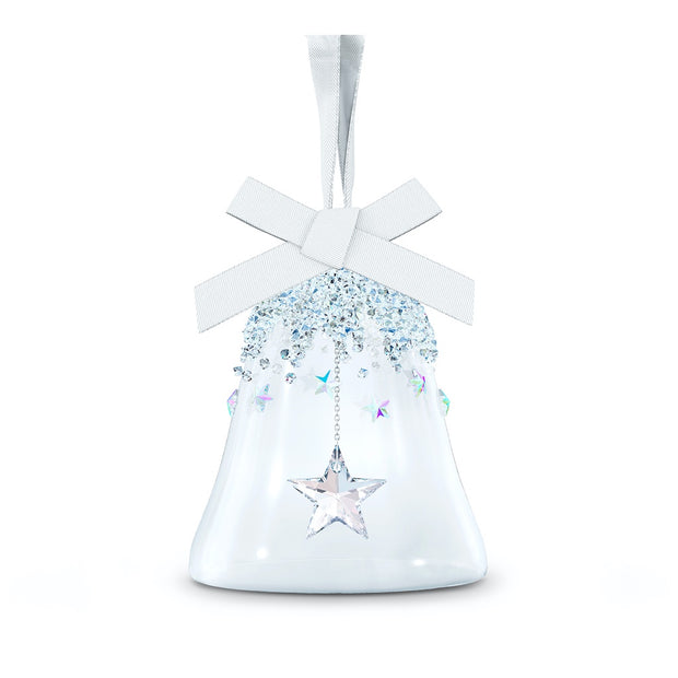 Swarovski Small Christmas Bell Ornament - Star