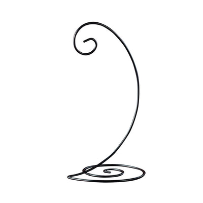 Black Spiral Ornament Display Stand - Large