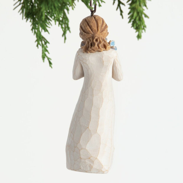 Willow Tree Forget-Me-Not Ornament