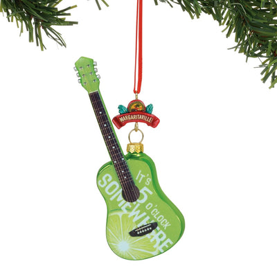 Margaritaville Guitar Ornament