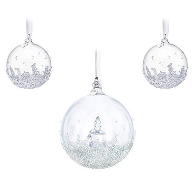 Swarovski 2017 Annual Christmas Ball Ornament Set
