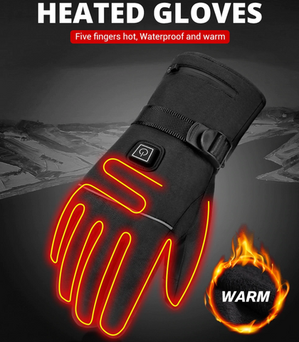 Electric Heated Insulated Gloves - Cayyogo