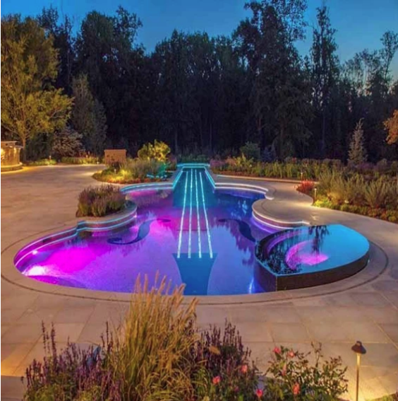 Submersible LED Pool Lights (With Remote)