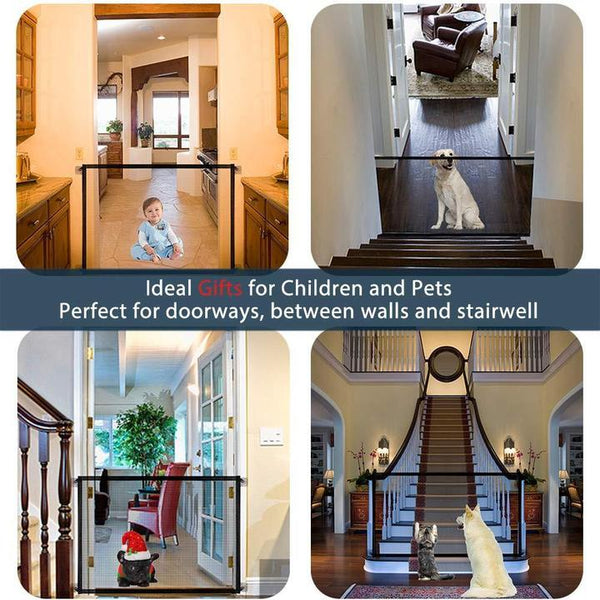 (Last Day Promotion & 50% OFF) Portable Kids & Pets Safety Door Guard