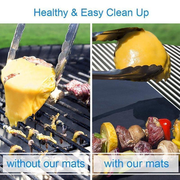 【50% OFF】Reusable Non-Stick BBQ Baking Mats
