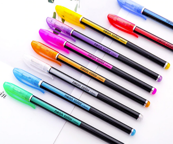 Vibrant Gel Pen Pack - 50% OFF New Year Sale