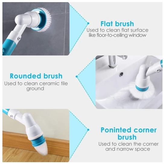 Magical Electrical Power Cleaning Scrubber