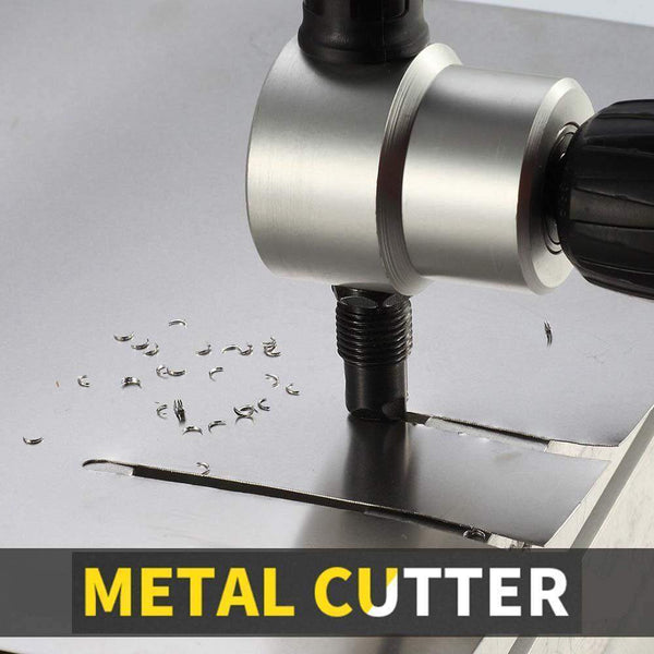Double Headed Sheet Metal Nibbler Cutter