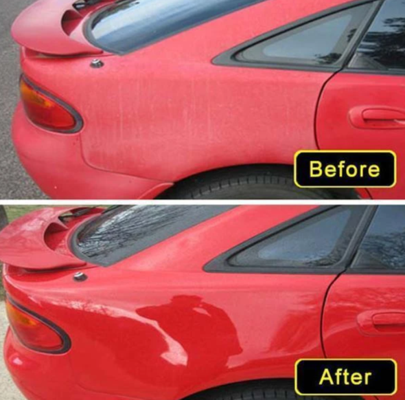 Plastic Restoration Car Cleaner