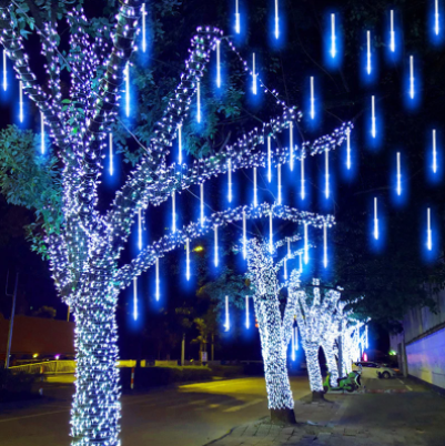 Snow Fall LED Lights Set